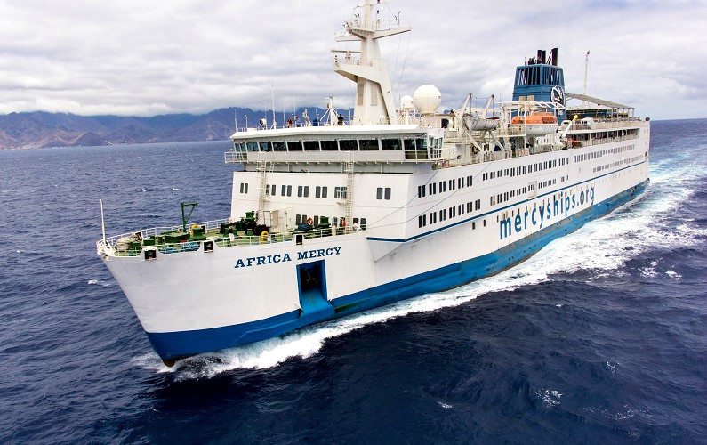 Press Release: Tymor Marine assists Mercy Ships with essential medical care in Africa