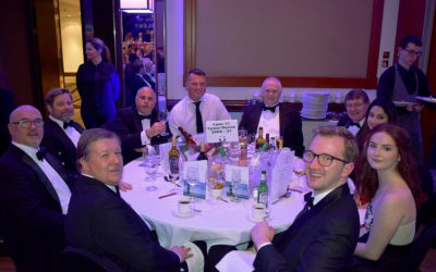 Tymor and Guests Attend SSBA Charity Dinner