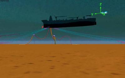 Orcaflex mooring analysis simulation
