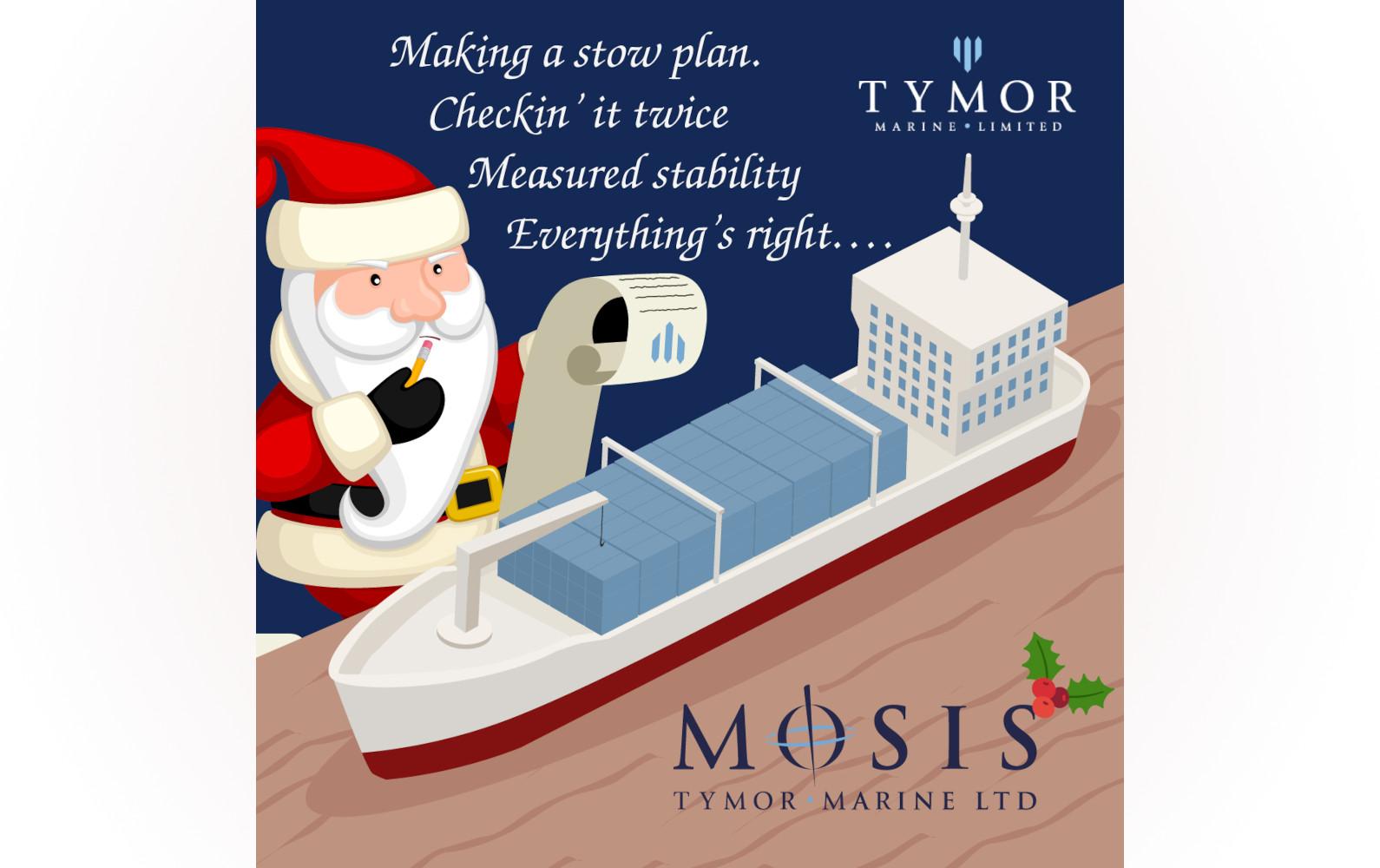 Tymor Christmas Card